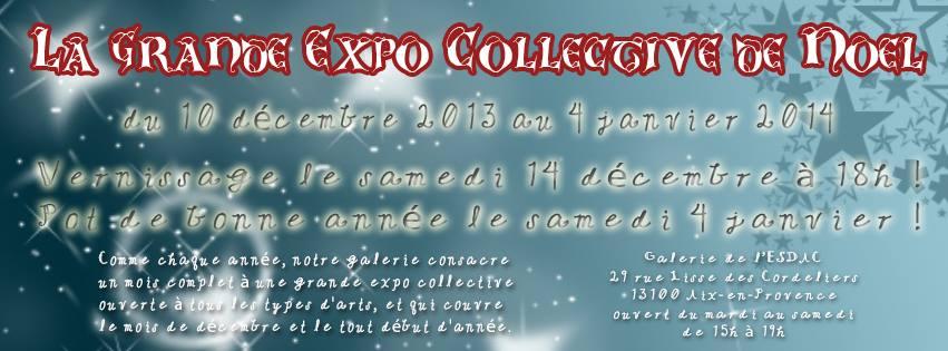 invitation Galerie ESDAC