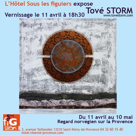 Affiche Tove Storm Sous Les Figuiers