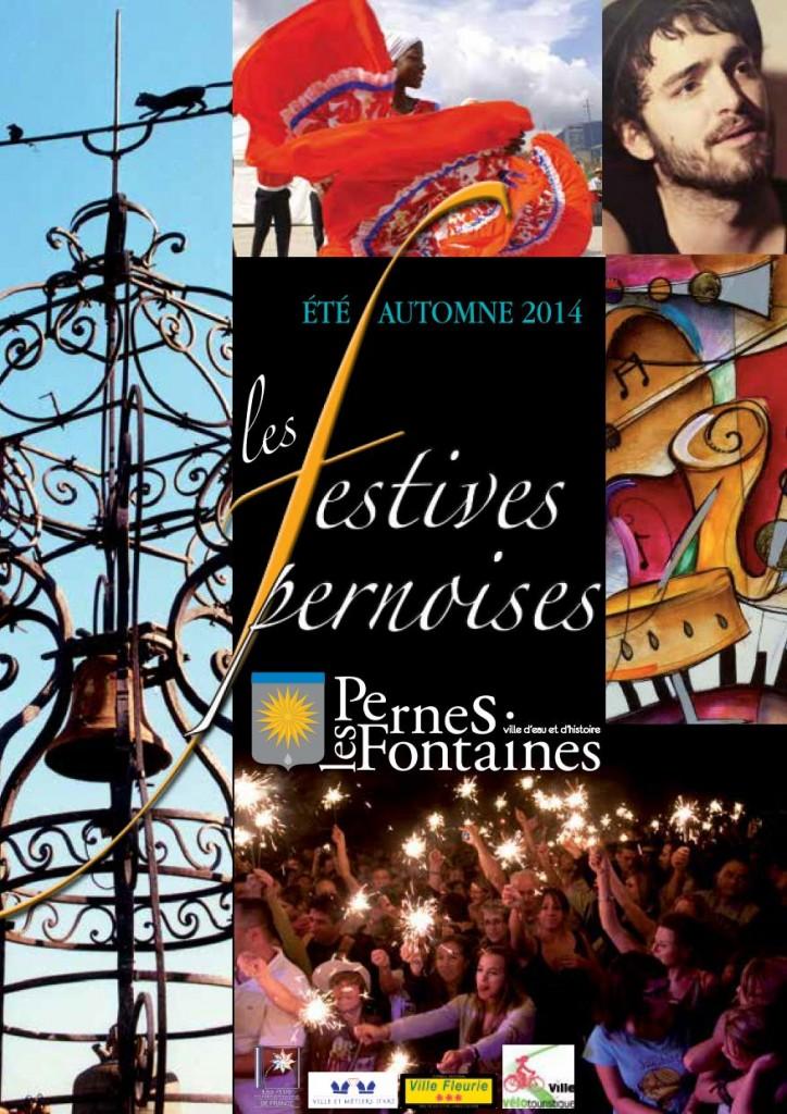 FESTIVITES ETE 2014 PERNES LES FONTAINES