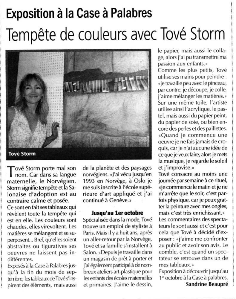 ARTICLE LE REGIONAL 2011